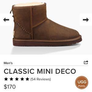 UGG Men's Classic Mini Deco Boots